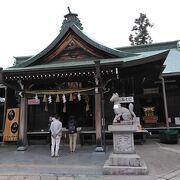 犬山城の入り口の縁結びの神様
