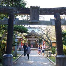 江島神社 奥津宮