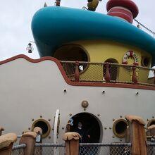 ドナルドのボート