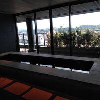 9階ラウンジ横の足湯です。