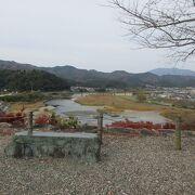 大洲城からの眺め