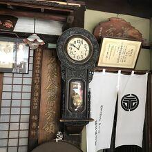 時計も古そう