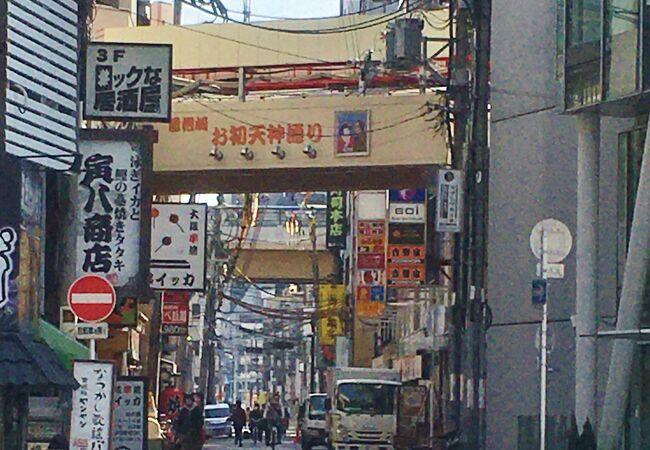 曽根崎お初天神通り商店街
