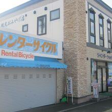 4月10日、9時5分頃の店舗の様子。まだ閉まっていました。