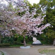 桜の季節に訪れました