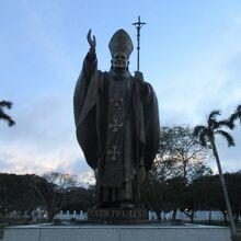 ヨハネ パウロ2世教皇像
