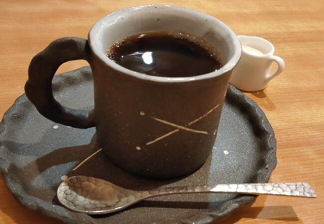 観光で疲れたら、ここで、おいしいコーヒー一杯
