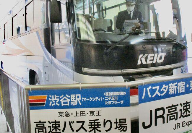 色々なバスが発着