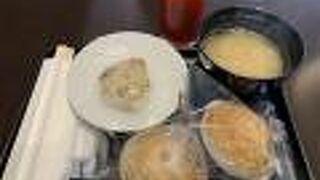 味噌汁にコーンスープ
