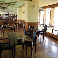 休業中のレストラン
