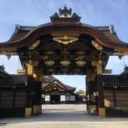 二の丸御殿への正門