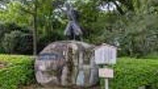 名古屋城 清正公石曳き像