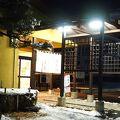 落合温泉の、旅館付属のお寿司屋さん