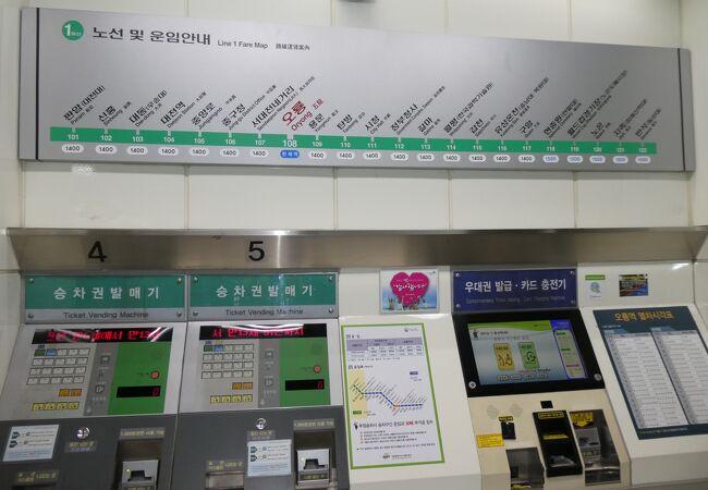 大田メトロ1号線 (大田広域市都市鉄道公社1号線)