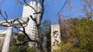 乃木坂にある神社