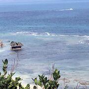 久高島やコマカ島を間近に見ることができる場所