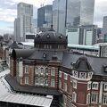 新丸ビルとキッテから見た東京駅