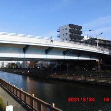 小名木川と塩の道と丸八橋