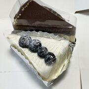 小さなケーキショップの小さいケーキ