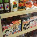 兵庫に縁のある手塚治虫先生の漫画デザインのご当地カレーなど珍しい品もあり