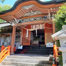 新田神社(鹿児島県薩摩川内市)