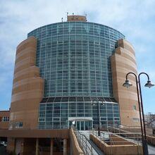 釧路市生涯学習センター展望台