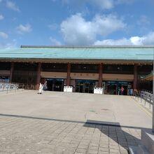 宮島桟橋駅の様子