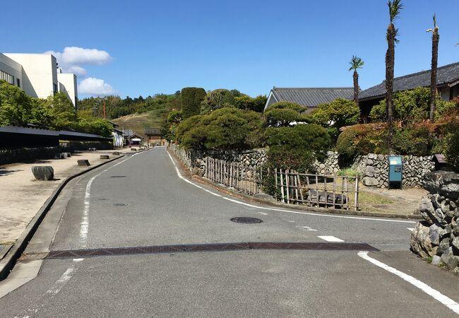 小幡の中小路と武家屋敷