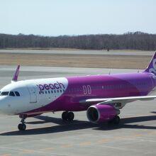 釧路発 A320neo新型機材