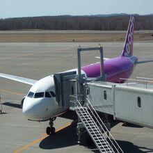 釧路発 3番ゲートに到着です
