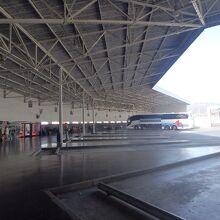 アルへシラスのバスターミナル