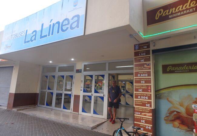 ラ・リネア・デ・ラ・コンセプシオンのバスターミナル
