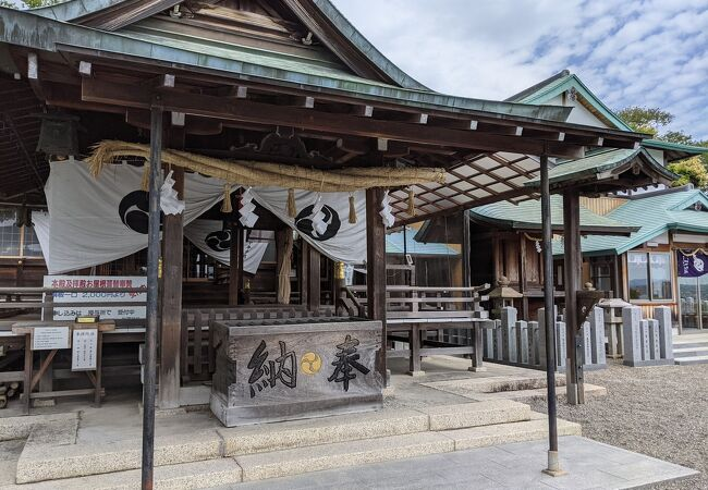 織田家ゆかりの神社