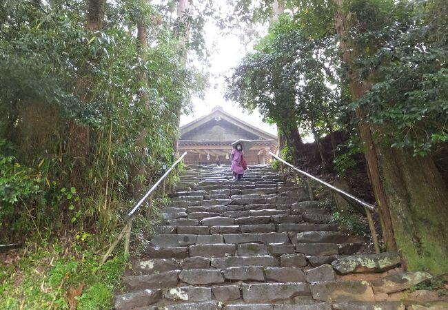 神魂神社(大庭の大宮)