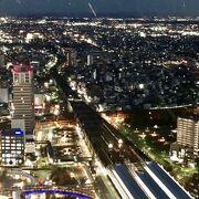 岐阜市街の夜景