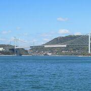 門司港から眺める関門海峡