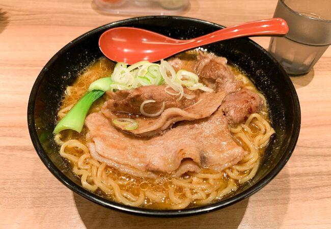 十勝ホエー豚麺が美味