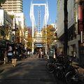 JR関内駅の近くにある商店街です。
