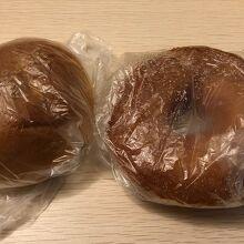 紫あんパン、リングドーナツ!