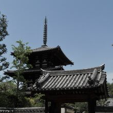 法輪寺(奈良県斑鳩町)