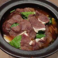 夕食③(天然猪のお鍋)
