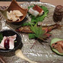 夕食①(秋のおもてなし)