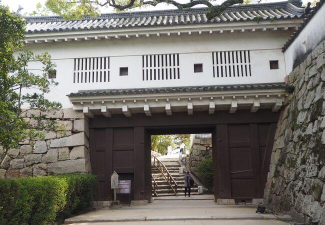 岡山城 廊下門