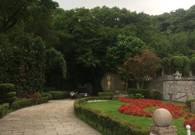 金宝山鄧麗君墓園 (テレサテン紀念墓園)
