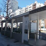 東京駅東口の地下に広がっています。