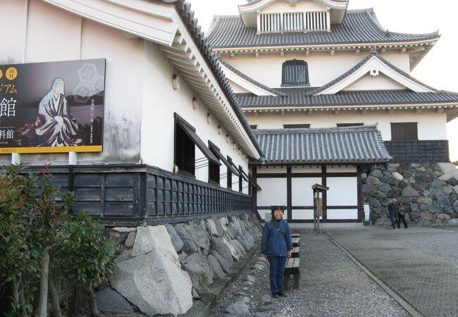 長浜城を復元した博物館