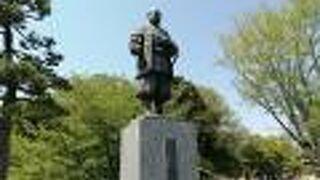 徳川家康公銅像