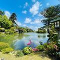 見事日本3大公園の兼六園