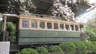 日本最古の電車 (平安神宮)