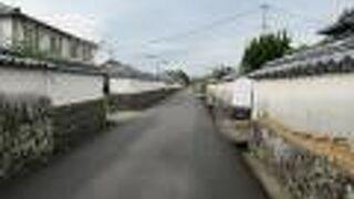 萩市堀内地区伝統的建造物群保存地区